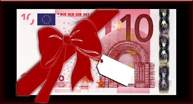 Geschenke bis 10 euro verbuchen