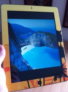 iPad Skin Sunset von 123skins.de