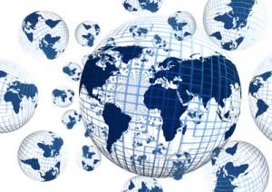 Online überall auf der Welt bewerben