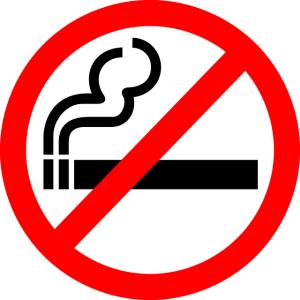 Weg von der Zigarette
